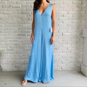 Majorelle NWT Blue Jumpsuit Silky Small Revolve